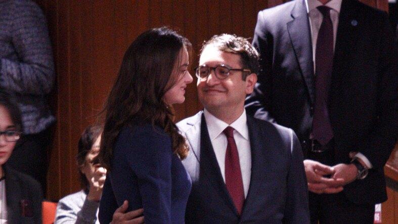 Irene Esser es novia de Andrés Manuel López Beltrán