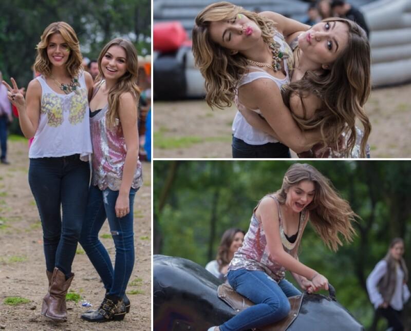 Sofía Castro asistió al cumpleaños de su amiga. Ambas lucían looks estilo western y guapas.