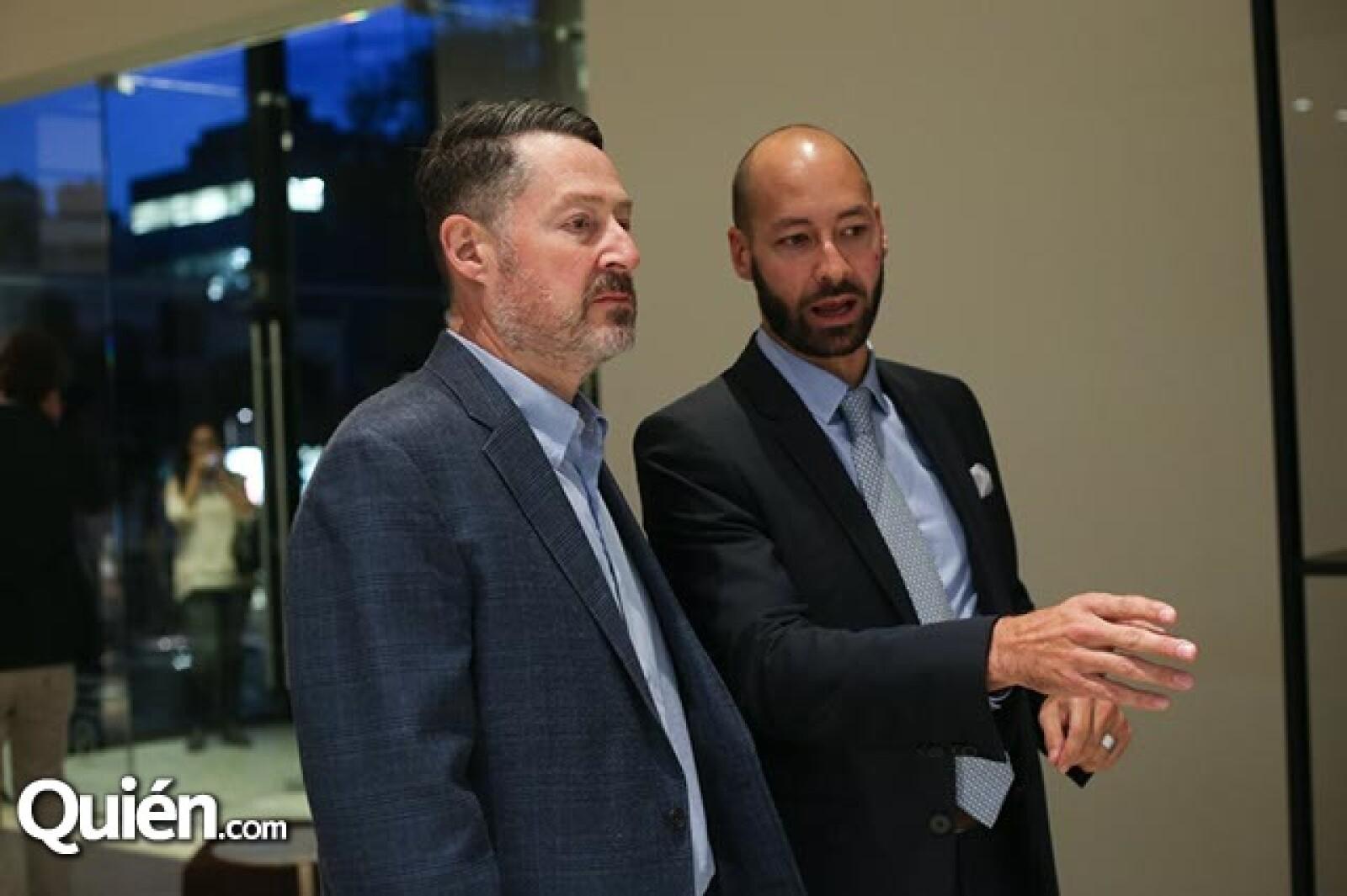 Teodoro Rodríguez y David Levy