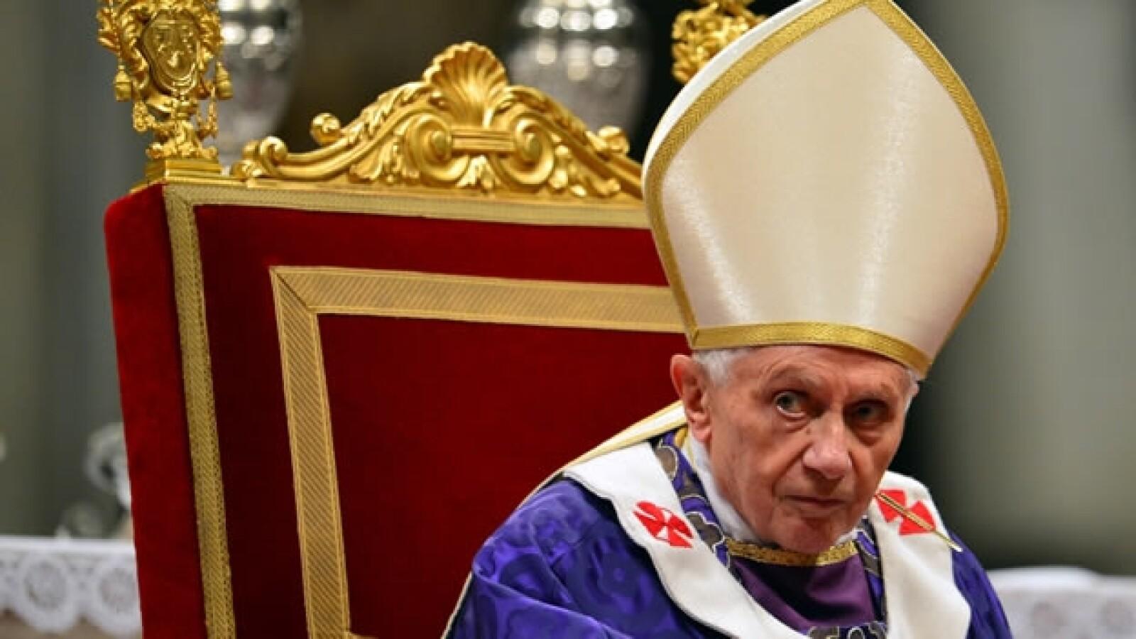 Misa de ceniza de Benedicto XVI