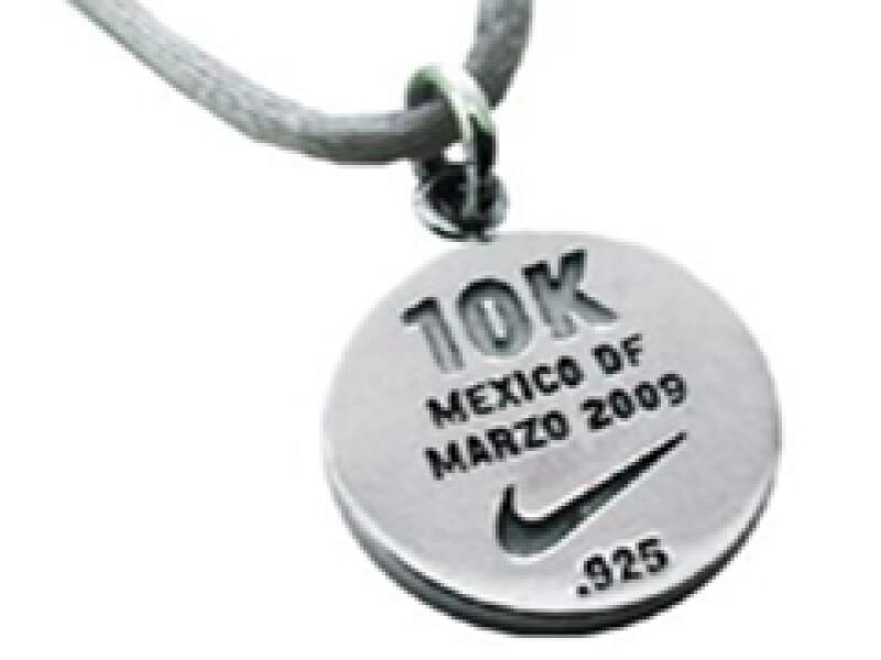 Daniel Espinosa diseñó el dije exclusivo de Nike (Foto: Cortesía)