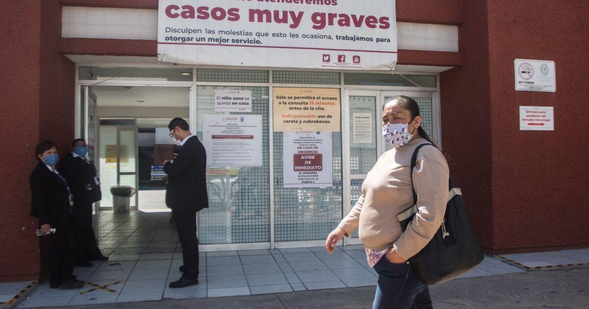 COVID-19: México acumula más de 40,000 casos en una semana y llega a 895,326