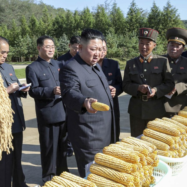 North Korean leader Kim Jong Un visits Farm No. 1116 of KPA Unit 810