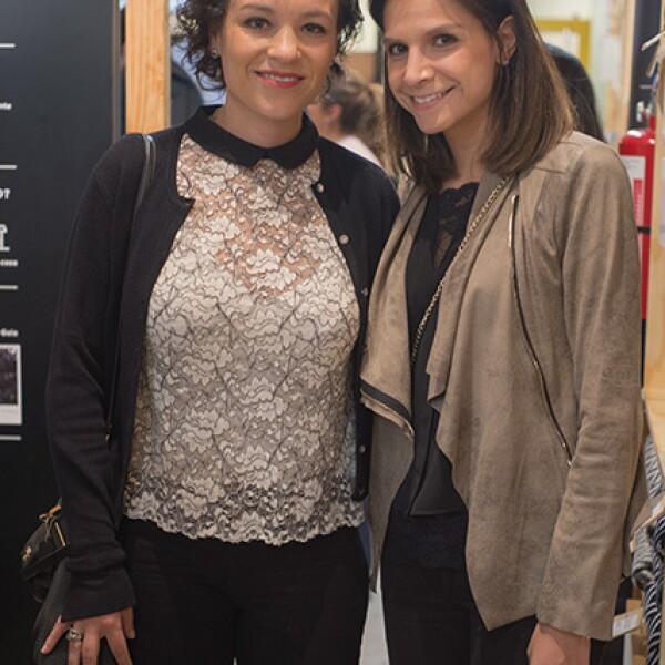 Daniela Betancourt y Cristina Betancourt