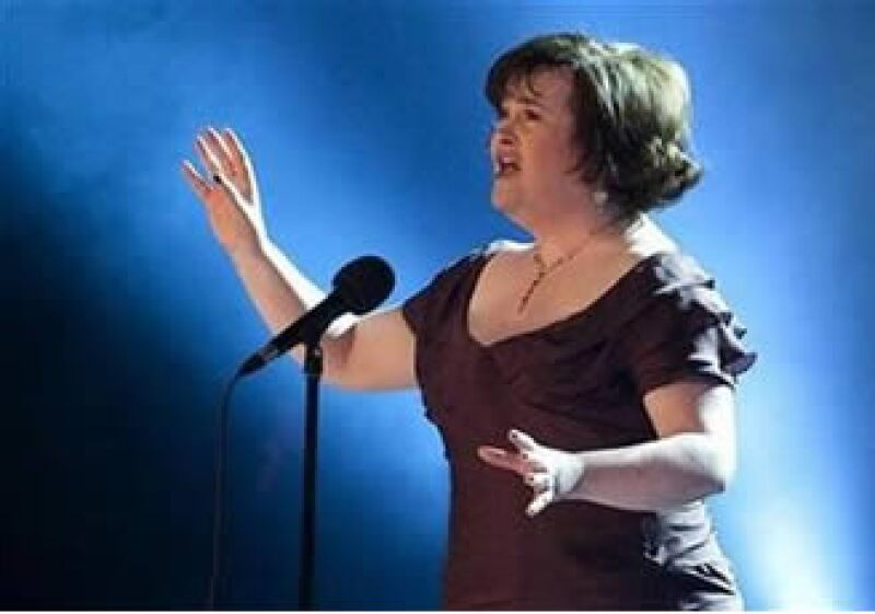 Susan Boyle vendió 8.3 millones de copias de su álbum I Dreamed a Dream. (Foto: Reuters)