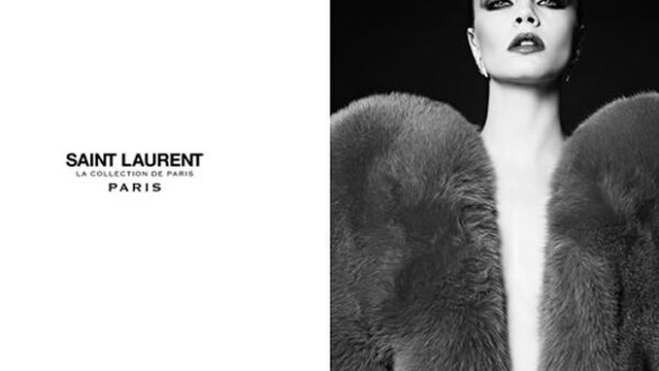 Cara, quien modela exclusivamente para Saint Laurent y Chanel, ¡regresa con una campaña impactante!