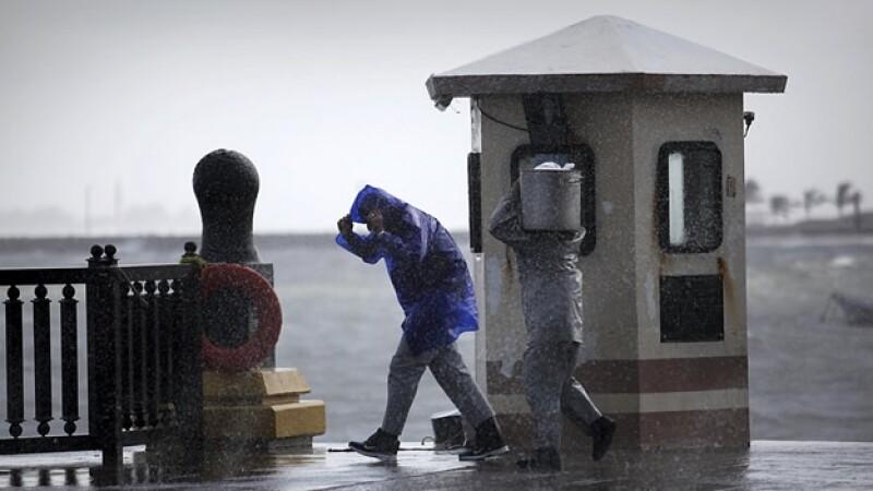 huracán México lluvias temporada