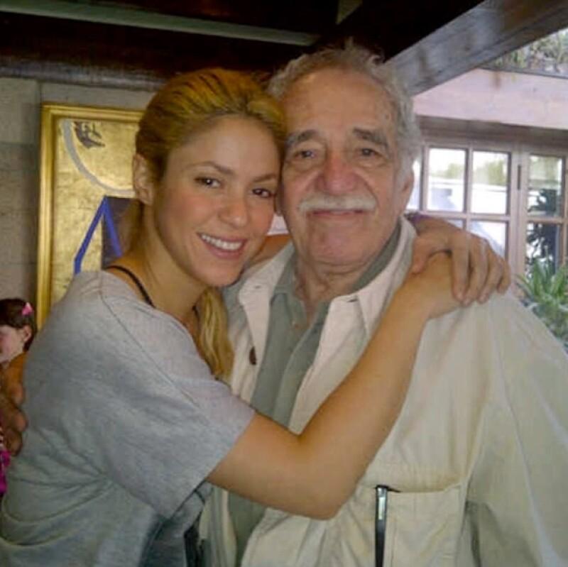 Shakira compartió esta tierna foto.