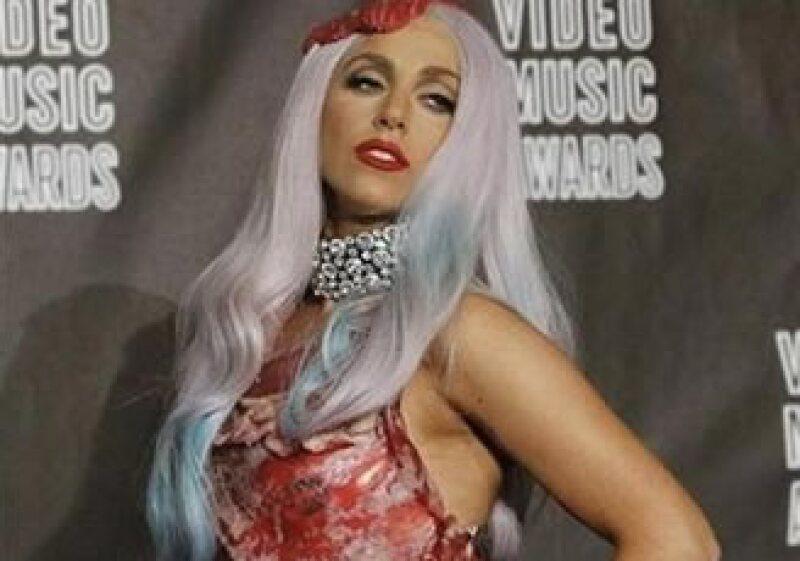 El traje de carne cruda que lució la cantante es el disfraz preferido de la gente en Estados Unidos. (Foto: Reuters)
