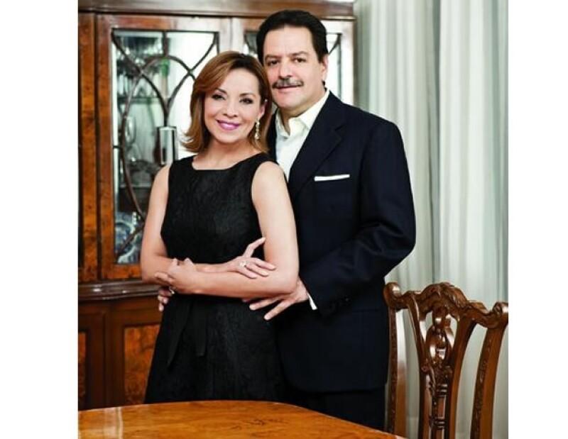 La candidata abrió las puertas de su casa a la revista Quién.
