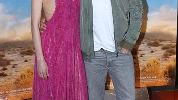 La actriz lució un vestido con el que mostró sus costillas, dejando en evidencia que ha perdido mucho peso.