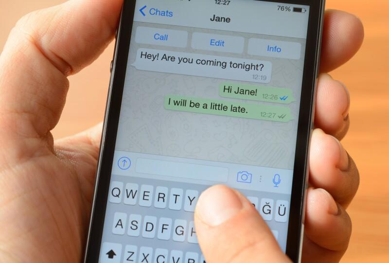 Solo mensajes de texto