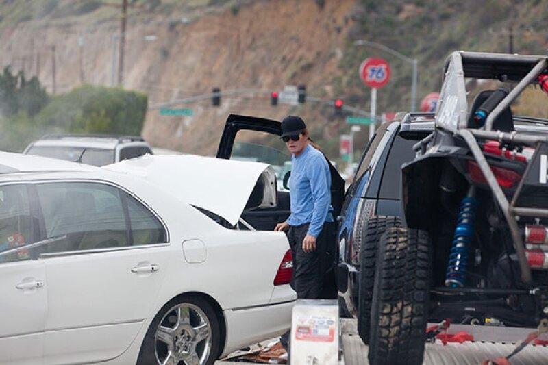 La policía investiga si no se encontraba utilizando su celular, hecho que podría haber causado el accidente.