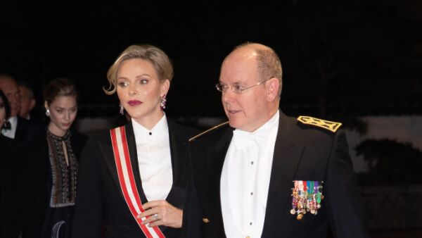 Charléne y Alberto II de Mónaco