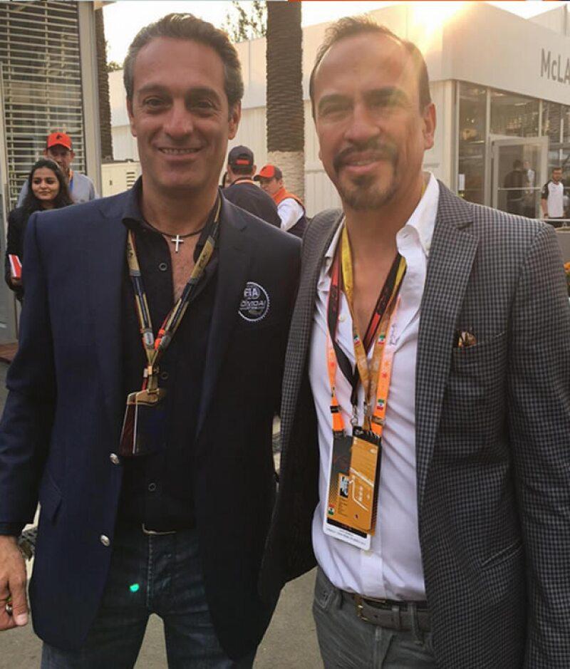 Carlos Slim Domit y Felipe Colsa