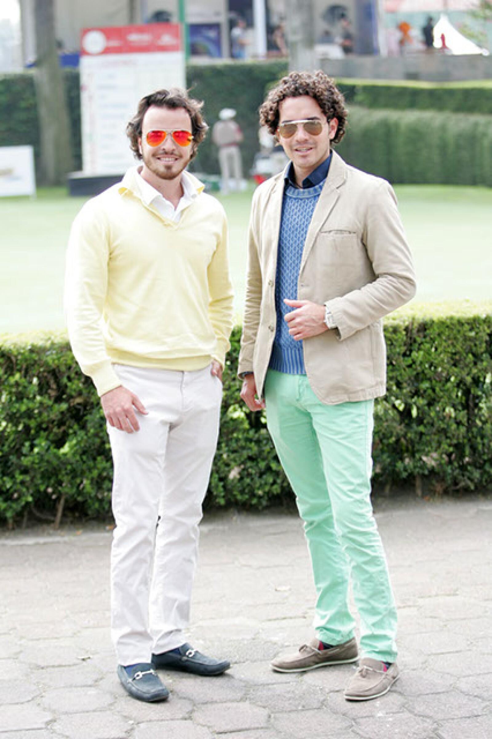 Fredy Vivanco y Daniel Dávila