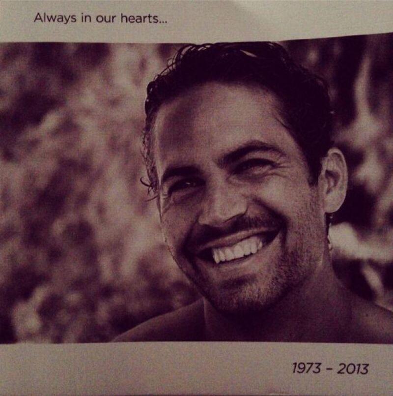Alrededor de 200 personas se dieron cita en una sala de los Universal Studios para recordar al actor fallecido en un accidente automovilístico el 30 de noviembre pasado.