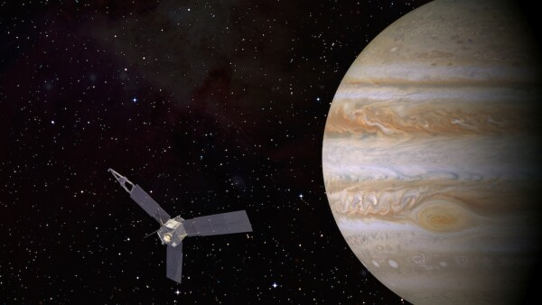 La NASA capturó un fantasma en Jupiter