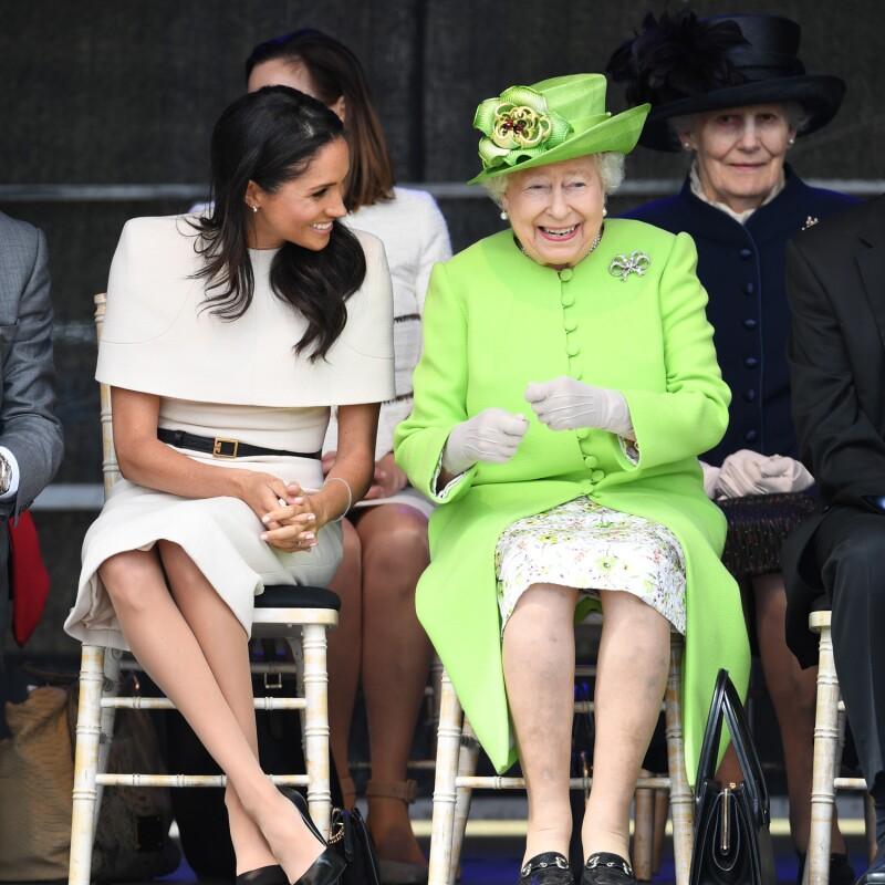 Meghan y la reina