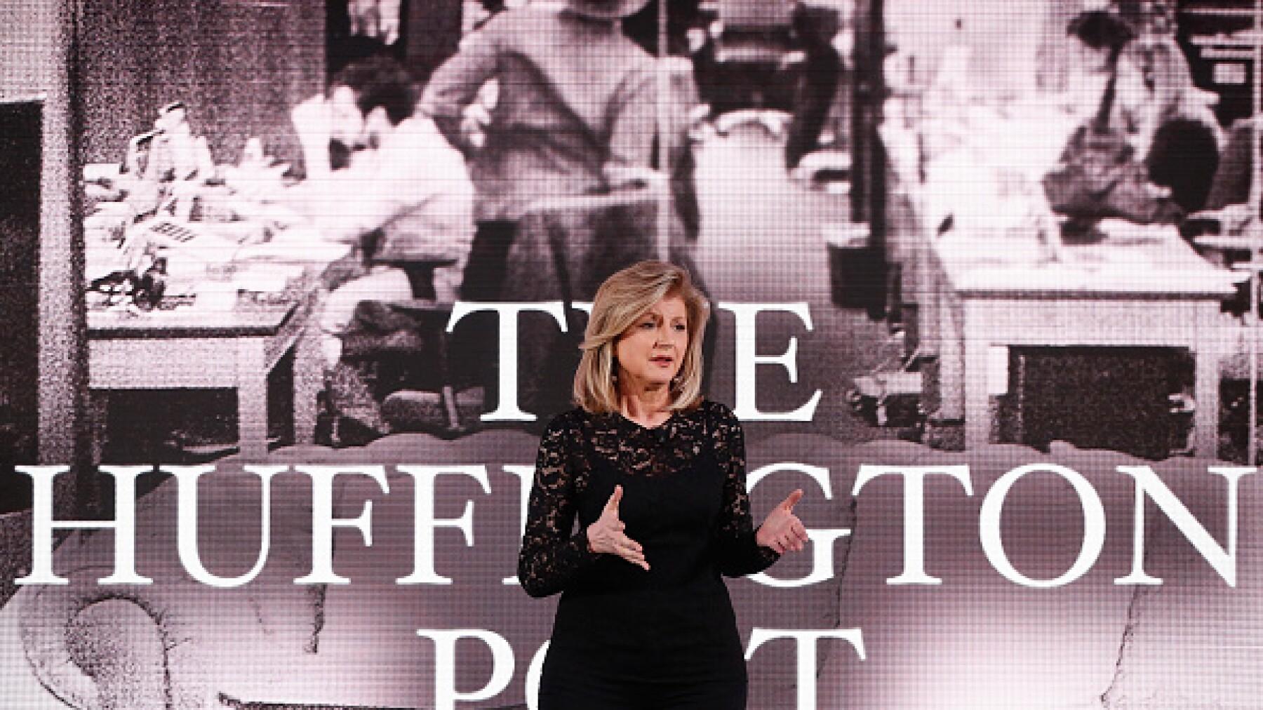 Una de las mujeres más influyentes en los medios de comunicación internacionales, Arianna Huffington es una abierta crítica de Trump.