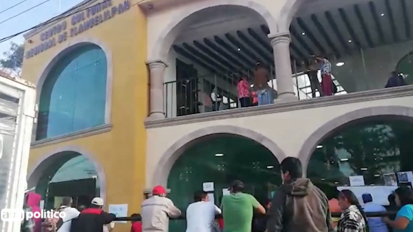 Autoridades instalan módulo para familias de víctimas en Tlahuelilpan