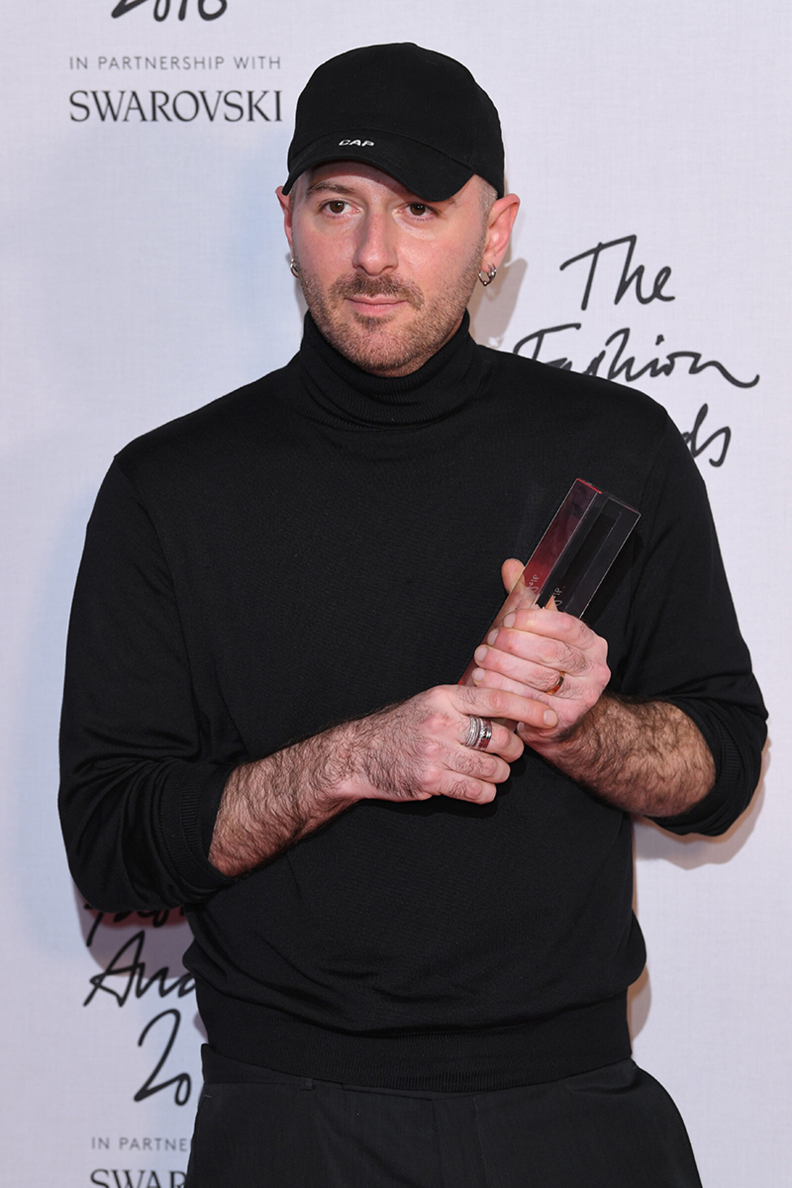 The Fashion Awards 2016, Press Room, Royal Albert Hall, London, UK - 05 Dec 2016