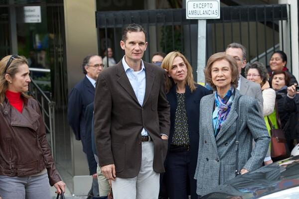 Juan Carlos of Spain Receives Visits at Hospital