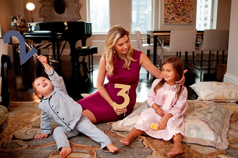 A través de un divertido video, la hija de Donald Trump anunció que espera un bebé para principios de año junto a su esposo Jared Kushner.