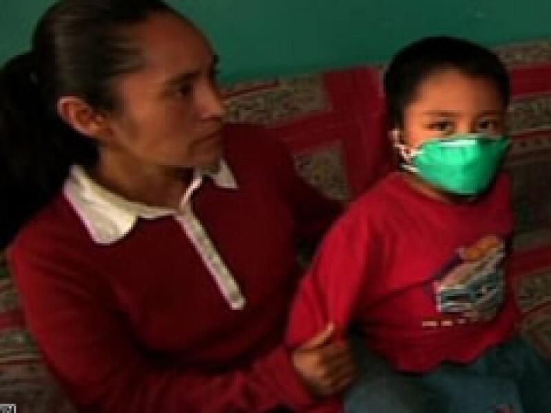 Edgar Hernández recibió tratamiento médico para recuperarse de la influenza. (Foto: Cortesía CNN)