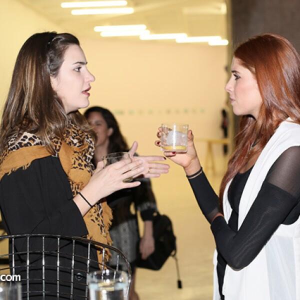 Carla Gulesseri y Paola Quintero