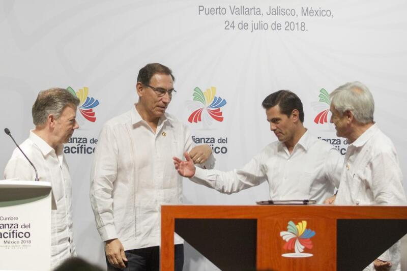Enrique Peña Nieto Alianza del Pacífico