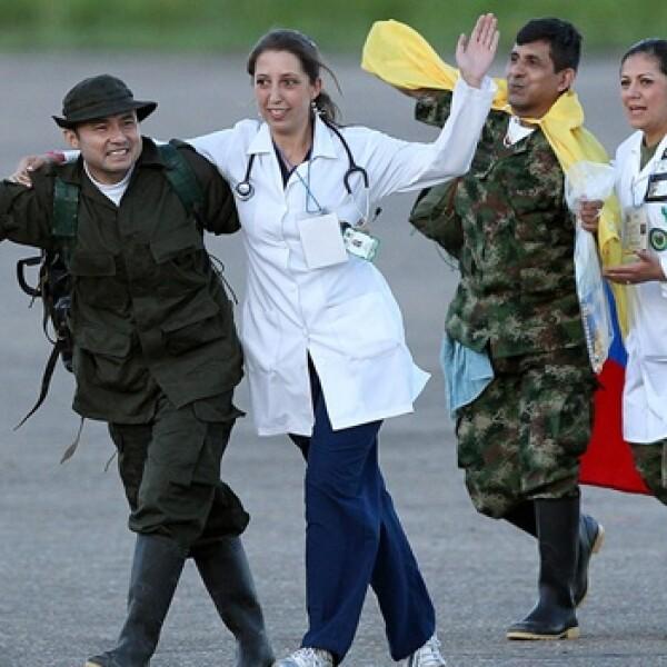 farc liberacion policias militares colombia