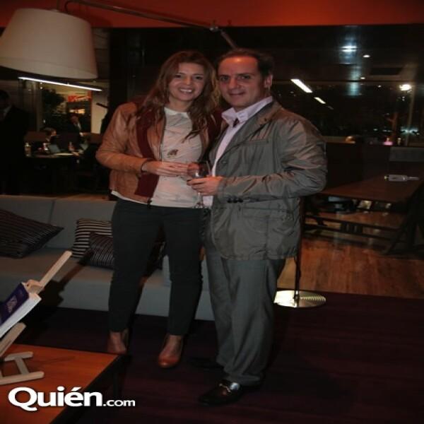 Paulina Ayala y Juan Carlos Alverde