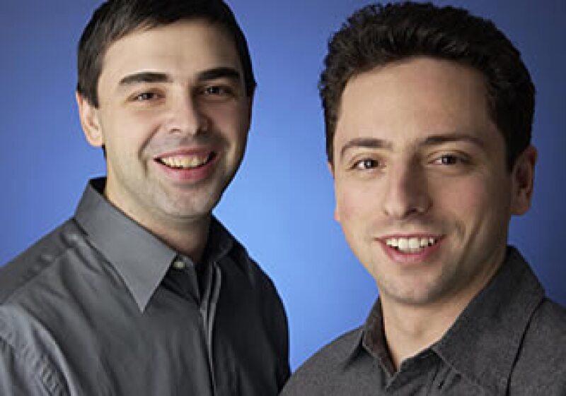 Larry Page (derecha) es cofundador de Goolge y nuevo dueño del yate Senses. (Foto: Cortesía Fortune)