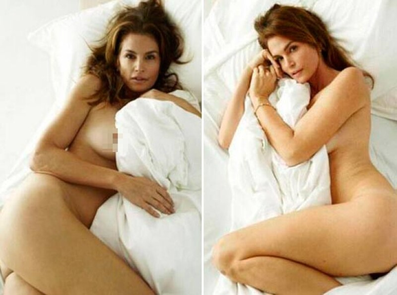 La modelo demostró que a sus 48 es tractiva y sensual.