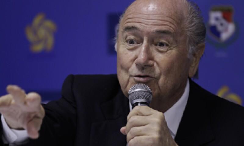 Joseph  Blatter fue elegido como presidente de la FIFA el 8 de junio de 1998. (Foto: AP)