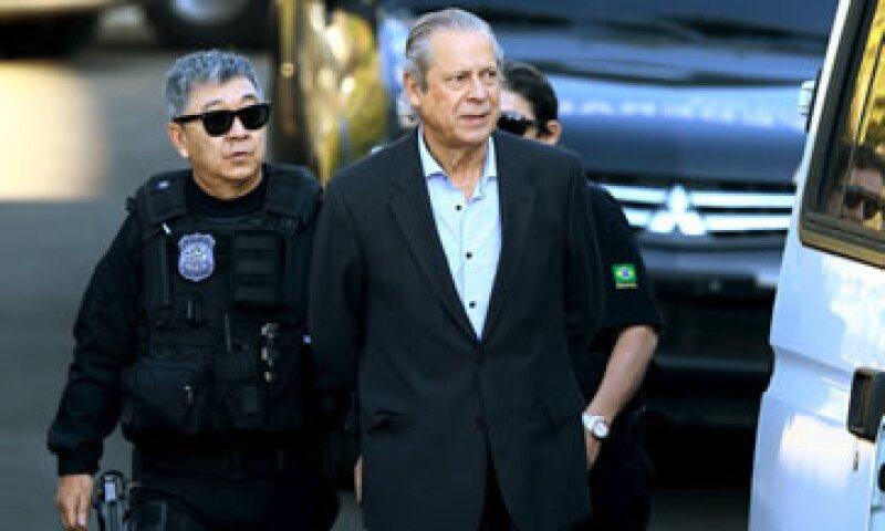 Dirceu está bajo arresto domiciliario en Brasilia. (Foto: Reuters )