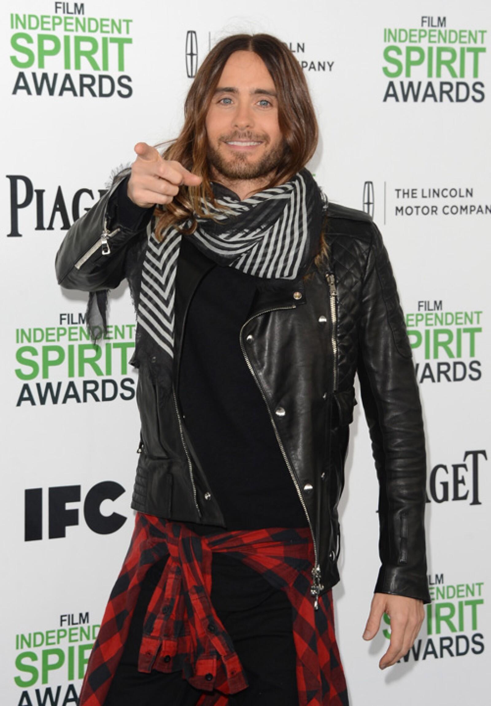 Adoptó el look de pelo largo estilo ombré luego de su participación en la película Dallas Buyers Club.