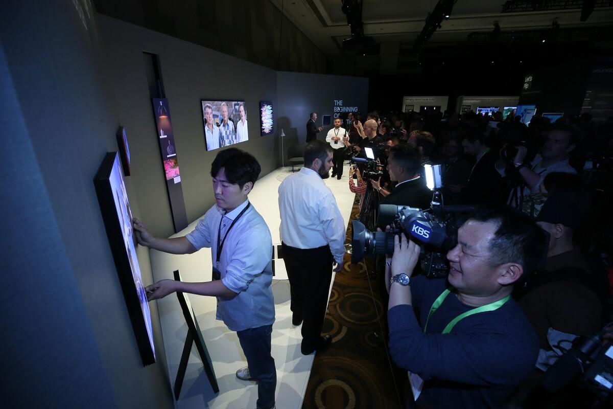 Televisores 'sin límites': la apuesta de Samsung en CES 2019