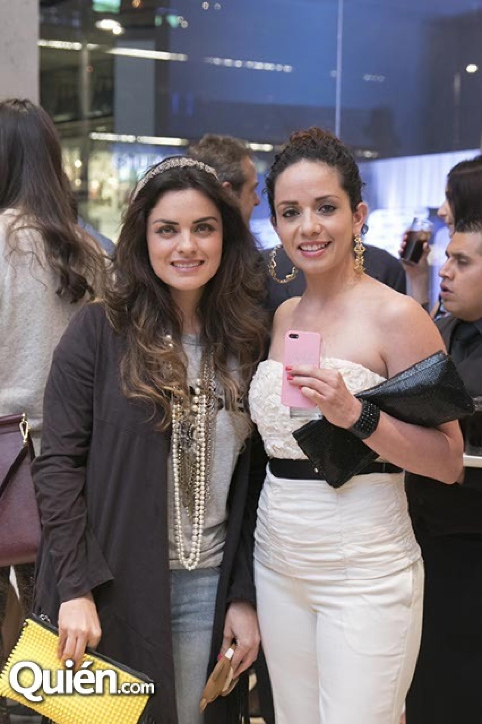 Rebeca Maccise y Alejandra Reynoso