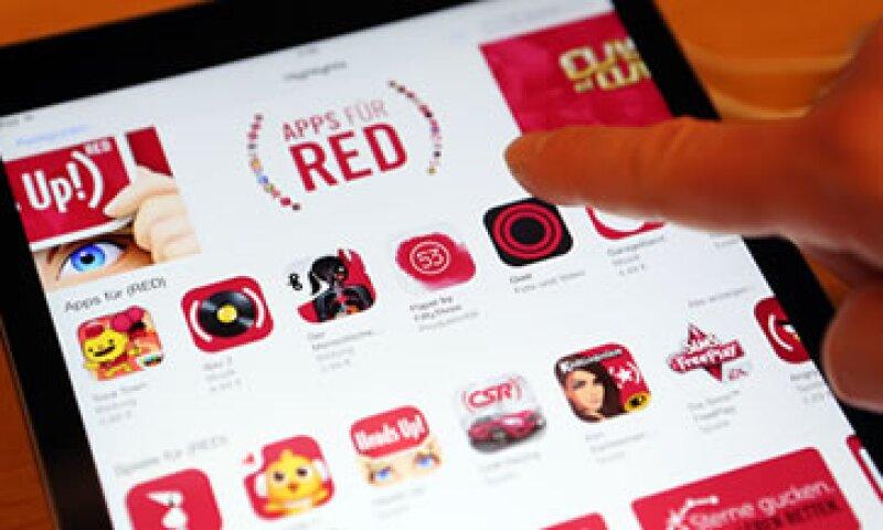 Apple también destacó el éxito alcanzado con sus productos especiales RED (Foto: Getty Images )