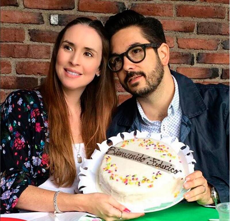 La actriz ha publicado en su perfil de Instagram la primera foto de Federico, su segundo hijo con Pedro Ortiz de Pinedo.