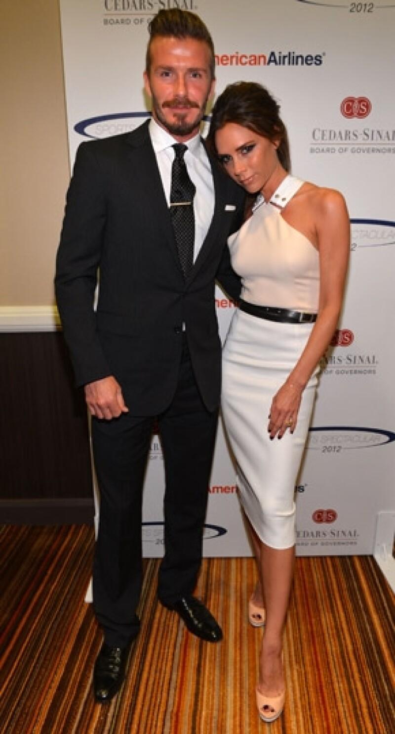 David y Victoria donarán las ganancias a actos de beneficiencia.