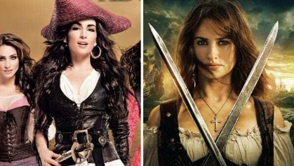 La actriz es la imagen de la nueva campaña de una tienda departamental y lo cierto es que nos recuerda mucho a Penélope Cruz en `Piratas del Caribe´.