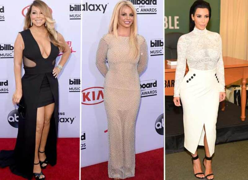 ;ariah Carey, Britney Spears y Kim Kardashian también reciben fuertes cantidades de dinero por presentarse en Las Vegas.