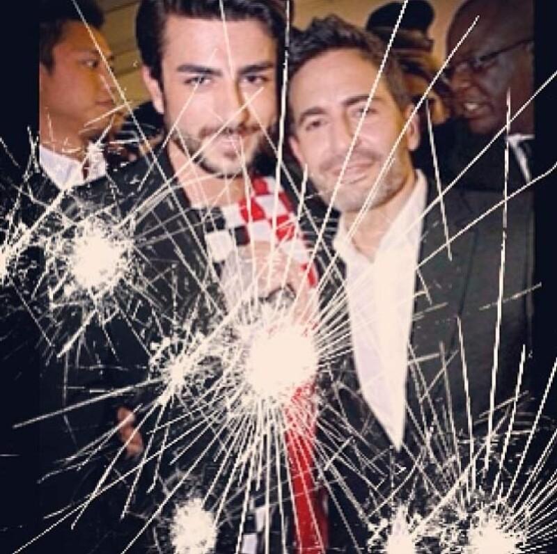 A días de que se anunciara que el diseñador abandonaba Louis Vuitton,  es su novio Harry Louis quien anunció mediante su cuenta de Instagram que él y Marc Jacobs terminaron su relación amorosa.