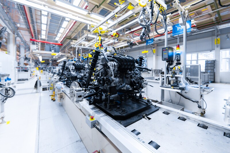 Automotriz motor