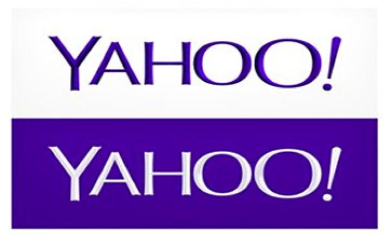 El nuevo logotipo de Yahoo muestra las letras que no se tocan y un signo de exclamación al final. (Foto: AP)