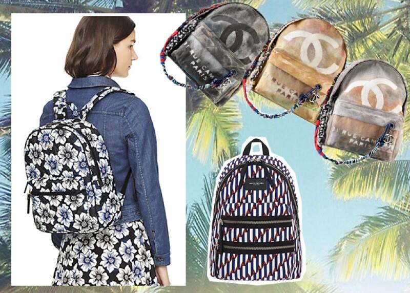 Varias firmas como Coach, Zara, Chanel y Kate Spade, han creado mochilas espectaculares, con las que sin duda, no sufrirás durante tu día escolar.