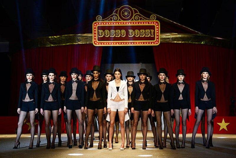 La media hermana de Kim Kardashian ha demostrado que puede desfilar en cada pasarela del mundo. Sin embargo, en esta ocasión se enfrentó a una experiencia totalmente diferente.